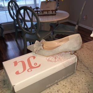JG Ladies suede dress shoes